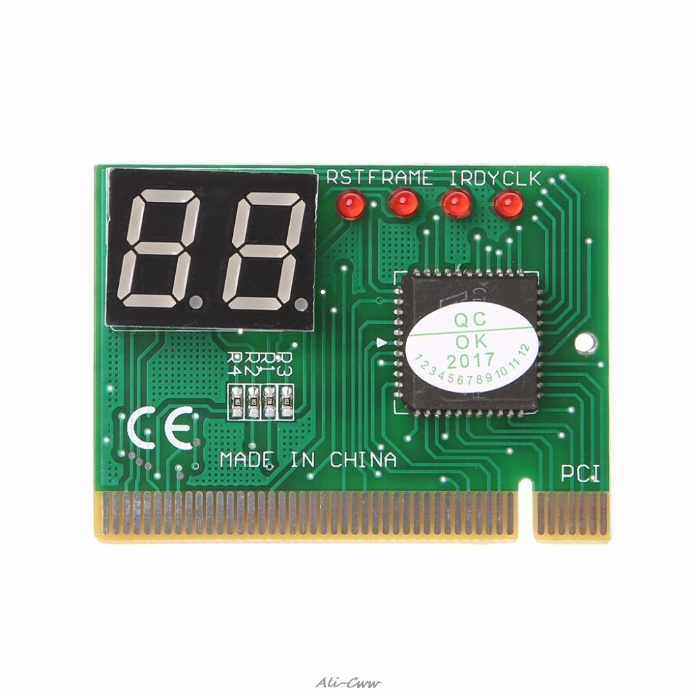 2-Digit Code PCI Card Motherboard Analyzer Diagnostic Post Tester For Laptop Computer PC Diagnostic Card