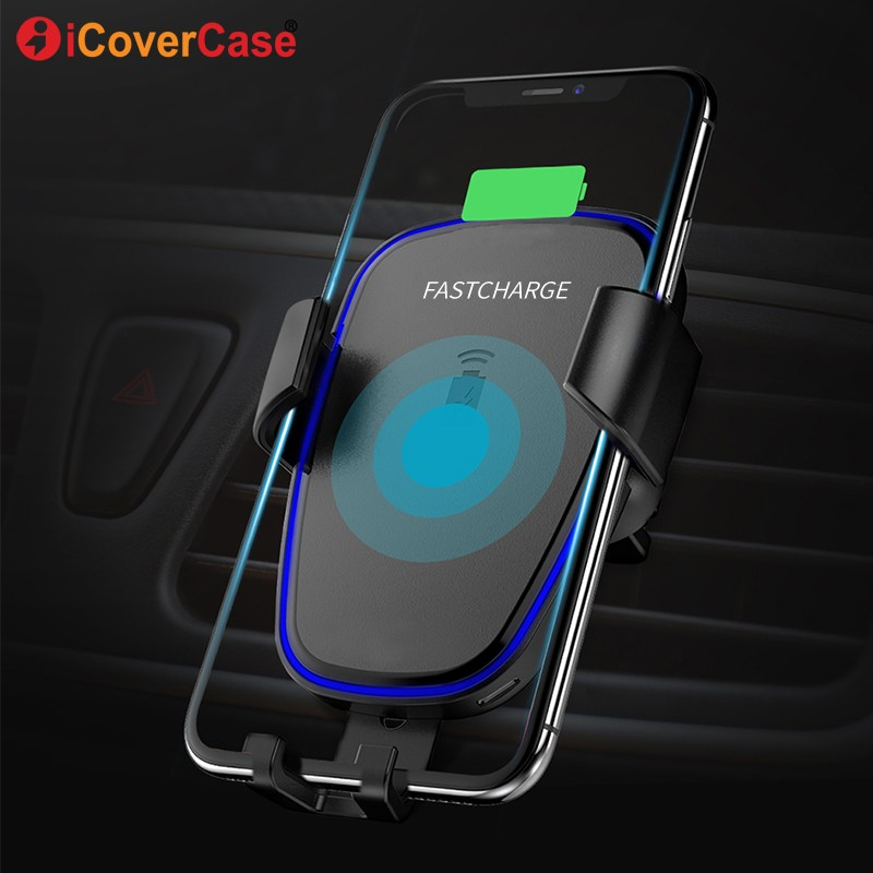 Mobile Phone Accessories Car Charger For Huawei Y9 2019 Y3 Y5 Y6 Y7 Pro 2018 Y7 Prime 2017 Hua Wei Charger Wireless Qi Receiver Suv Air Vent Mount Charge