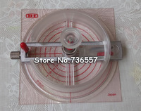 Multi 7Size Adjustable Round Rotary Circle Graphic Paper Metal Cutter Sharp Blade Die Board Button Maker
