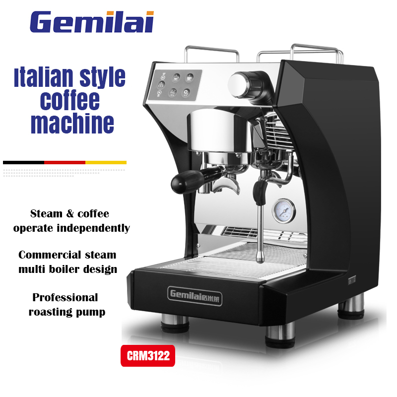 Gemilai 3122 Commercial Semiautomatic Italian Coffee