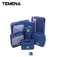 Admission Packages Suit Portable Waterproof Travel Travel Bags Luggage And Clothes Sorted Packages For Seven Piece