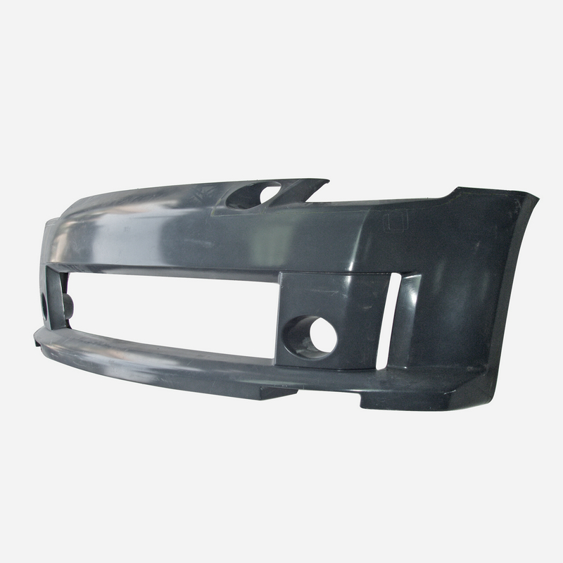 Car Accessories STK Style FRP Fiber Glass Front Bumper Fiberglass Tuning Cover Part Racing Body Kit Trim Fit For Nissan Z33 350z image
