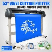 53 винил режущий плоттер резак контур вырезные наклейки Artcut программного обеспечения