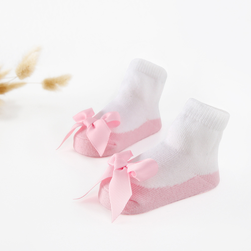 Assorted 4 Pairs Z-Chen Kids Children Girls Boys Cotton Striped Knee High Socks