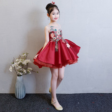 Girl Princess Dress Wedding Flower Childrens Birthday