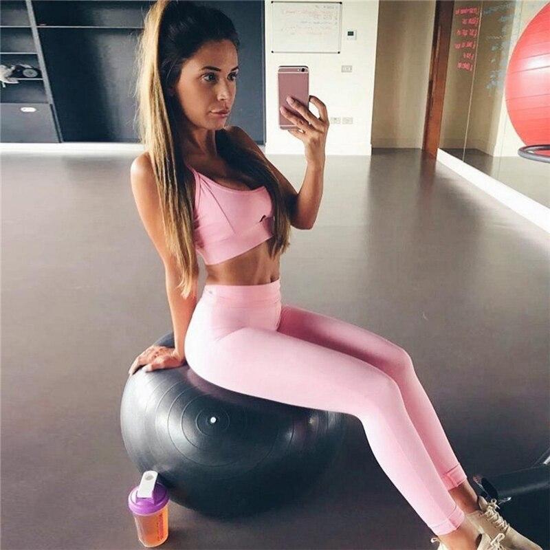 Women Yoga Running Elastic Sets