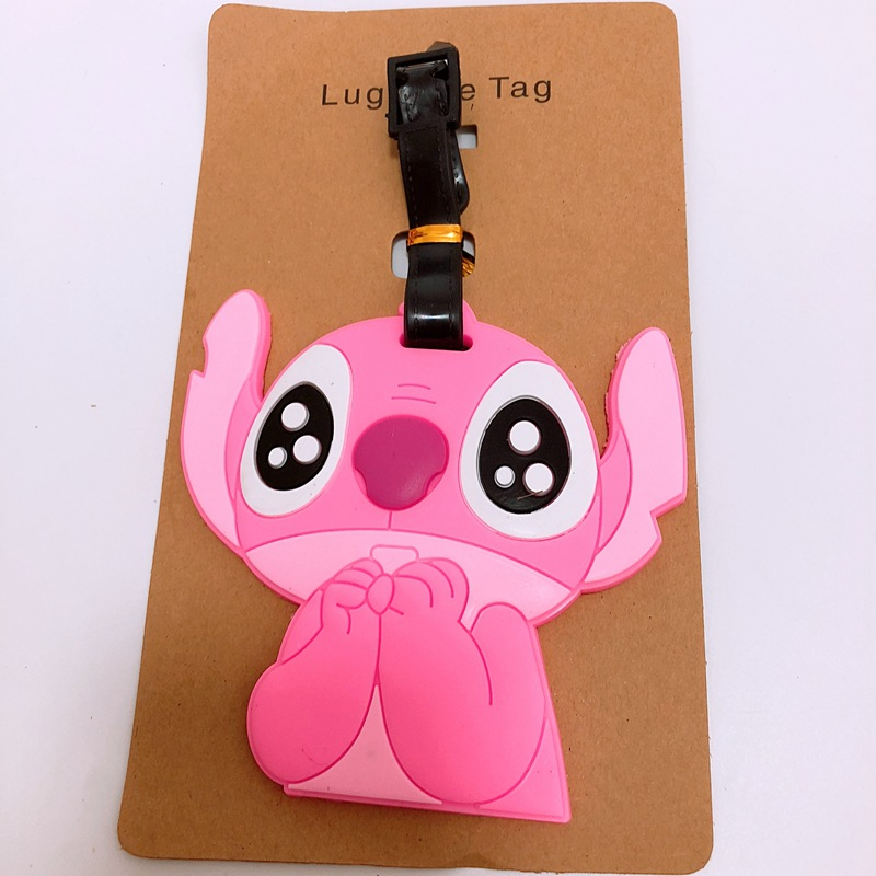Five Nights At Freddys Marionette Leather Luggage Tag Travel ID Label For Baggage Suitcase