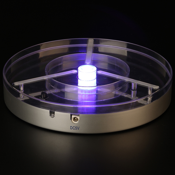 Purple LED Light Base 8inch