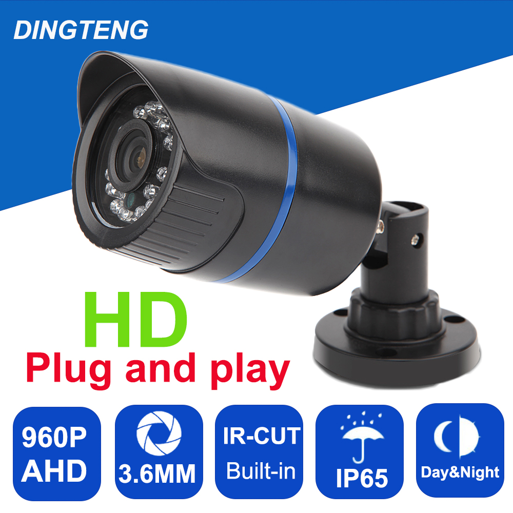 CCTV Camera Security AHD Camera bullet Camera 960P Waterproof IP66 Outdoor Video Surveillance Night Vision cctv analog camera sony811 ccd 700tvl day night vision outdoor metal case ip66 waterproof bullet camera for cctv montior system