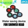 WASOURLF 2 piezas de ahorro de agua dispositivo regulador aireador para grifo de ducha cabeza conectar con tubo de manguera de bubbler envío gratis