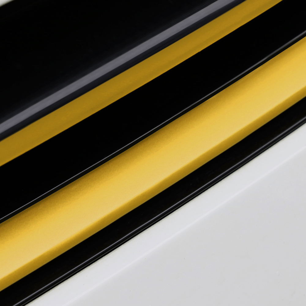 Image 5 - Grille Front Bumper Carbon Fiber Protection Film Car Stickers And Decals Car styling For Volkswagen VW Golf 7 MK7 Accessories-in Car Stickers from Automobiles & Motorcycles