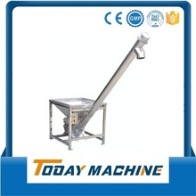 Stainless Steel Inclined Screw Feeder with Hopper Loader/ Screw Conveyor with Hopper цена и фото