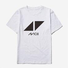 Voltreffer Avicii Damen T-shirts für Frauen Sommer Rock und Rolle Mode Damen  Streetwear Tops Weiß T Shirt Frauen Baumwolle Nette