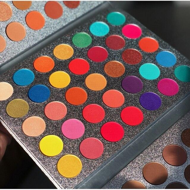 Beauty Glazed 63 Colors Fashion Eyeshadow Palette Matte Glitter Eye Shadow Makeup Nude Shinning Shadow Pigment Makeup Sombra 1