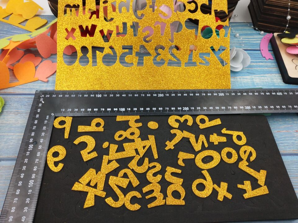 Set letter MY3054 DIY new wooden mould cutting dies for scrapbooking Thickness 15 8mm