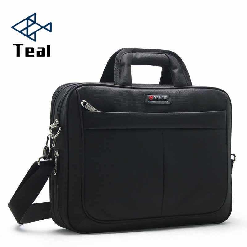 fcbc4d955174 Кожаный портфель для ноутбука для мужчин 2019 Оксфорд большие и маленькие сумки  Мужская сумка большая емкость