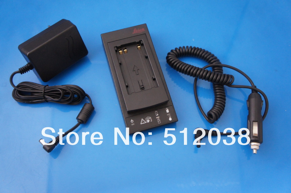 GKL211 Basic Battery Charger for Leica GEB211,GEB212,GEB221,GEB222,TS02,TS06,TS09 batteries With Car Charger