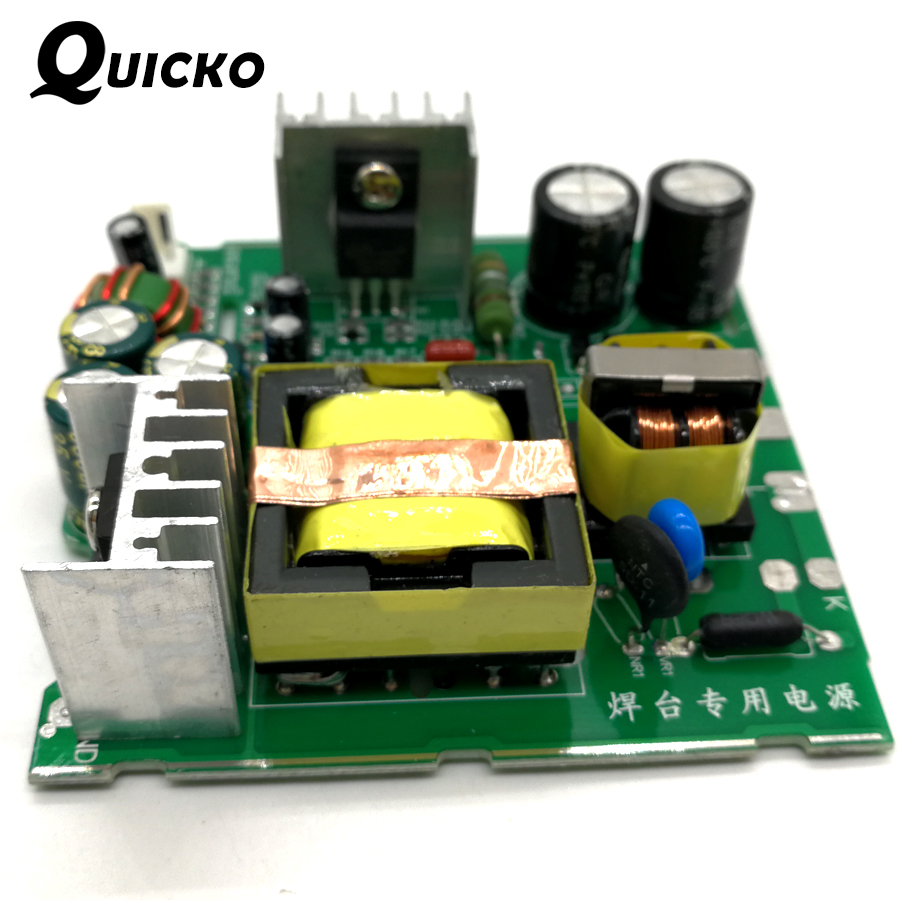 QUICKO New Arrival T12 Power Supply 24V 108W 4.5A For OLED LED Soldering Station DIY KITS OLED STC Digital Electric Controller