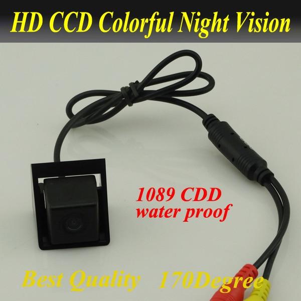 imágenes para Promoción CCD cámara de vista trasera Del Coche cámara de visión trasera para Ssangyong Actyon nuevo Korando versión nocturna impermeable Envío libre
