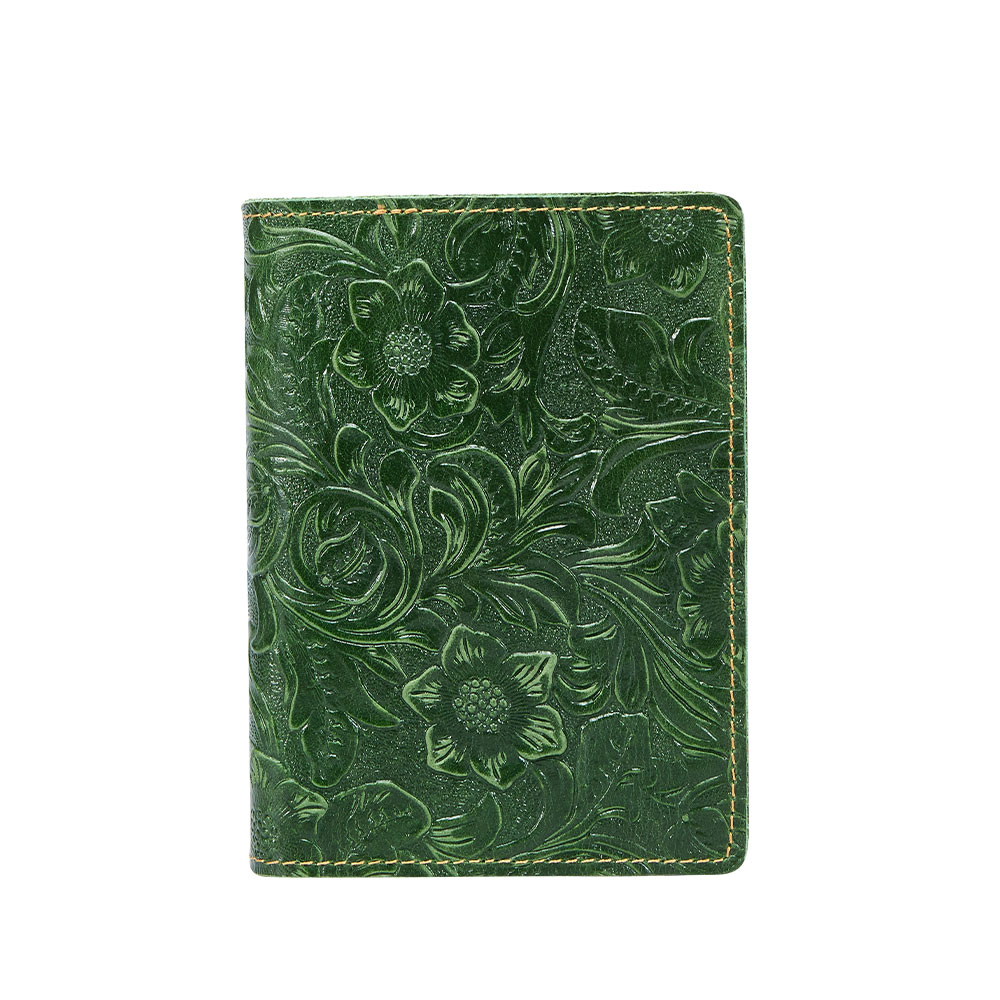 K018-Women Passport Cover Purse-Green-03(11)