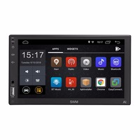 SWM A1 7 Car Stereo MP5 Player Quad core Android 8.1 2 Din Car Multimedia Player GPS Navi WiFi FM AM Bluetooth Touch Screen