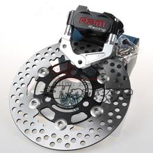 Best price RPMMOTOR For Yamaha Aerox Nitro RSZ BWS JOG Motorcycle Brake Caliper+Brake Pump Adapter Bracket+200mm/220mm Brake Disc Sets