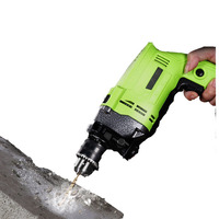 Powerful Mini Handheld Household Electric Drill 600W 220V Decoration Tool Variable Speed Impact Drill Wall Hole Daily Tools