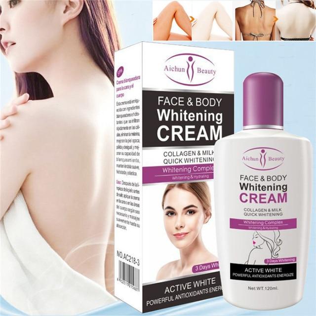 Aichun Body Cream For Dark Skin Bleaching Brightening Body