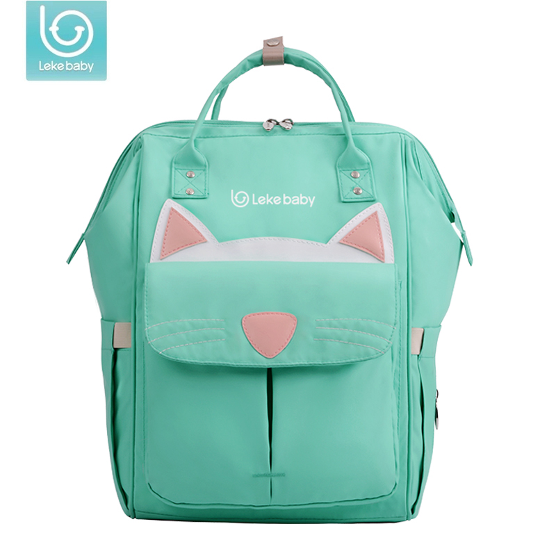 Lekebaby Fashion Mummy Maternity Bag Multi-function Diaper Bag Backpack Nappy Baby Bag Stroller Large Capacity for Baby Care цена