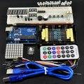 Бесплатная Доставка DIY KIT Basic Starter kit Обучения Комплект UNO доска Для Arduino Основы учебного комплекта Отправить Через Столб Сингапур