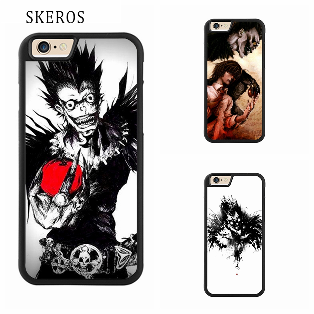 SKEROS Ryuk Death Note 1 Phone Case For Iphone X 4 4s 5 5s