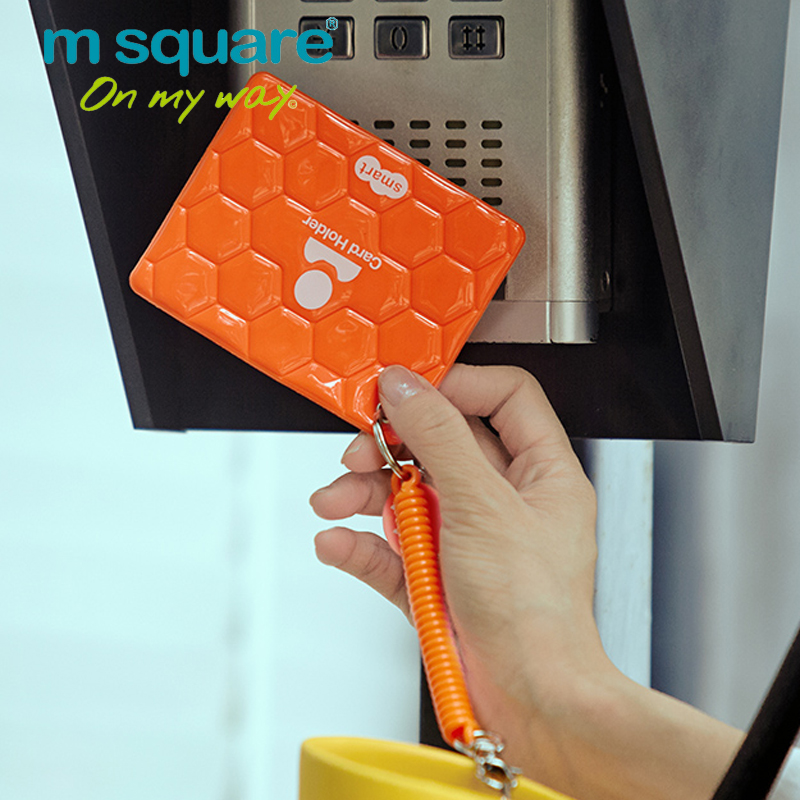 M Square Travel Credit Card Holder Wallet Visiting Id Business