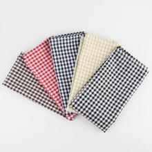 30x40 см набор из 12 платки из ткани хлопок лен обеденный стол салфетки тканевые салфетки 5 цветов