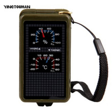 YT Portable Multi-functional Compass Camping Survival Compass Compass Camping Equipment Pointing Guide For Camping Hiking(China)