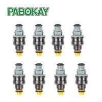 8 Pieces Pack High Performance Low Impedance 1600cc 160LB 152lb Hr EV1 Top Fuel Injectors 0280150842