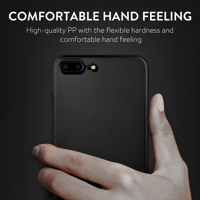 Simple Bussiness Matte Ultra-Thin Case for iPhone 7 7 Plus 8 8 Plus (PP iPhone Case) by Baseus 5