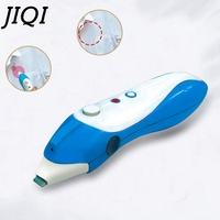 JIQI Electric Mini Clothes Handy Ultrasonic Washer Cloth Washing Machine Handheld Portable Garment Stains Removal Cleaner