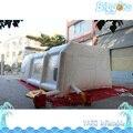 Frete Grátis Sea Portátil Inflável Cabine De Pintura por Pulverização Com Filtros E Ventiladores