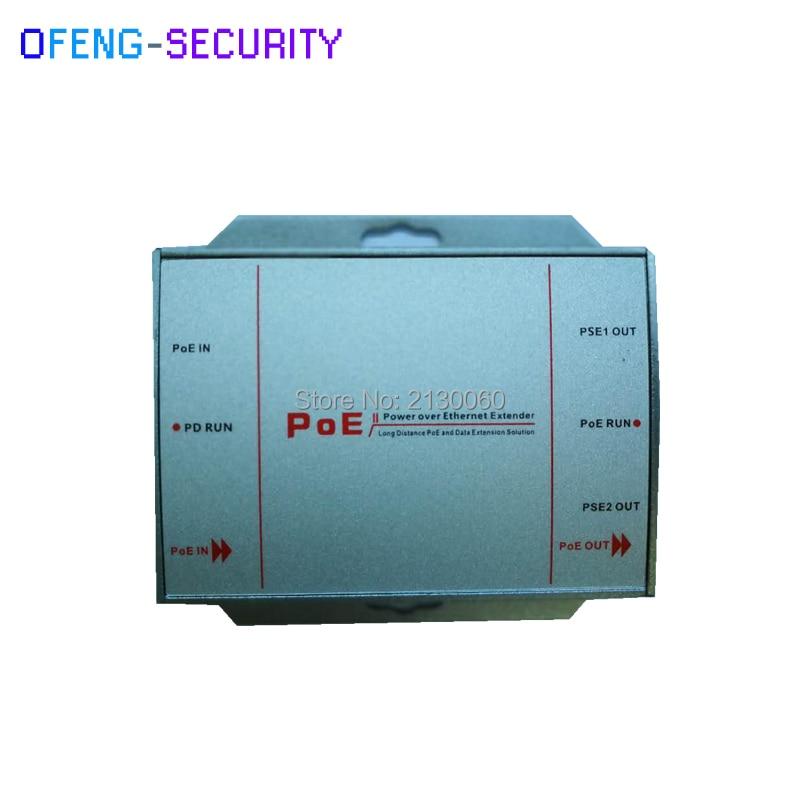POE Injector 10/100M Single Port 1 RJ45 Port (Input): Data+Power, 2 RJ45 Ports (Output): Data+Power (Self-adjustable Power)