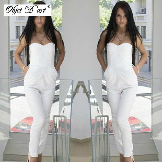 Сексуальные белые брюки