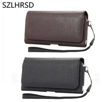 SZLHRSD Holster Case For Ulefone Mix S Cover Men Belt Clip Leather Pouch Waist Bag Phone