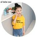 New Kids Девушки Кофты Весна Осень Письмо Случайные Сплошной Цвет Хлопка С Длинным Рукавом Рубашки Детские девушки Clothing XL692