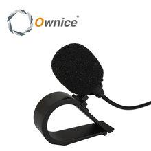 Audio del coche especial de micrófono de 3.5mm jack plug estéreo mic mini wired micrófono externo coche para ownice dvd