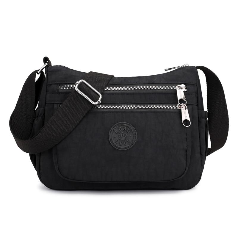 New fashion Female Messenger Bags Crossbody Bags For Girls Waterproof Nylon Handbag Women Package Shoulder Bag Purses