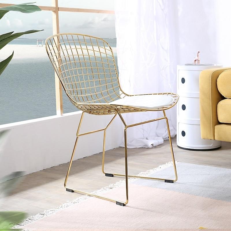 achetez en gros bertoia chaise en ligne à des grossistes bertoia ... - Chaise En Fil De Fer