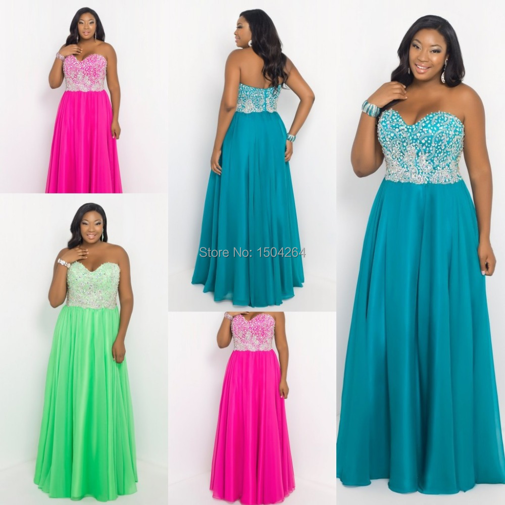 Sexy Plus Size Prom Dresses_Plus Size Dresses_dressesss
