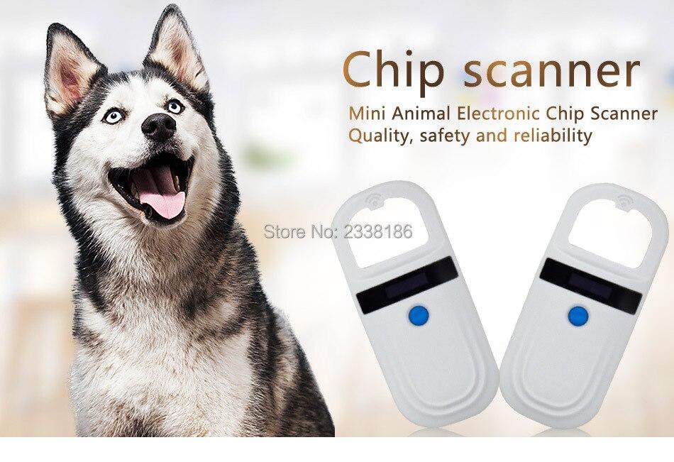 все цены на RFID Animal Chip Sweeper/reader Dog Chip Sweeper Implantable Chip Reader Readable 15 digits Storable chip number