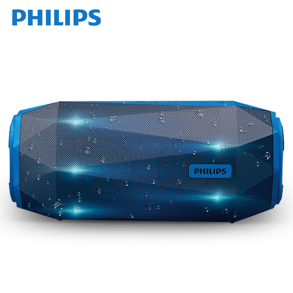 Philips SB500 Original AUX Loudspeaker Bluetooth V4.1 Built-in Microphone Wireless IPX7 Waterproof Li-Battery Music Speaker philips sb500 original aux loudspeaker bluetooth v4 1 built in microphone wireless ipx7 waterproof li battery music speaker