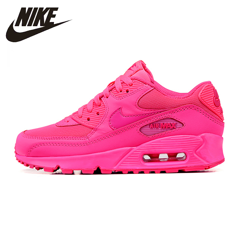 Nike New Arrival Air Max 90 Women's Running Shoes Original Breathable Sport Sneakers Shoes 345017-601 original new arrival nike air max 1 men s running shoes sneakers page 9
