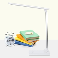 Portable Flexible LED Desk Lamp Table Light 220V, 5.9W 24.77lm LED Bulbs Touch Control for Bedroom Studying Office